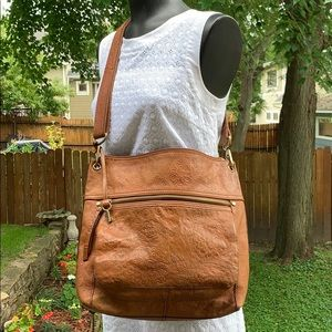 FOSSIL - Tooled Leather Bag - Gorgeous Crossbody